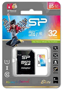 کارت حافظه میکرو سیلیکون پاور-32GB